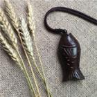 Fish Pendant Long Necklace As Shown In Figure - One Size