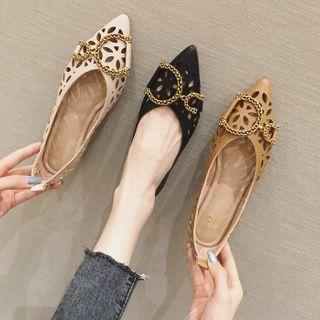 Cut-out Pointed Flats