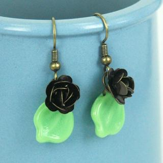 Copper Forest Earrings One Size