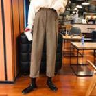 Herringbone Baggy Dress Pants