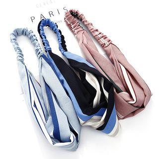 Stripe Fabric Hair Band