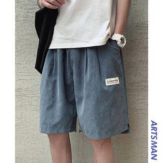 Plain Shorts With Drawcord