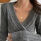 Disc Necklace Necklace - Gold - One Size