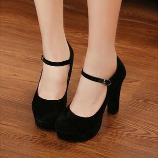 Mary Jane Platform Pumps