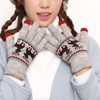 Deer Touchscreen Gloves