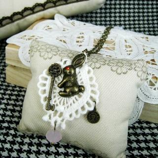 Prince Bunny Necklace
