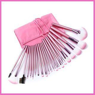 Set Of 22: Makeup Brush Set Of 22 - As Shown In Figure - One Size