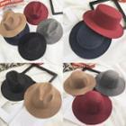 Plain Wide Brim Hat (various Designs)