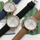 Faux Pearl Strap Watch