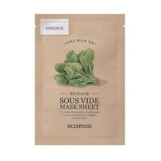 Skinfood - Sous Vide Mask Sheet - 10 Types #06 Spinach