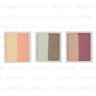 Muji - 2-color Eye Shadow Refill - 3 Types