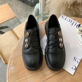 Buckled Oxford Shoes
