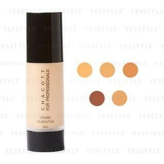 Chacott - Creamy Foundation 30ml - 5 Types