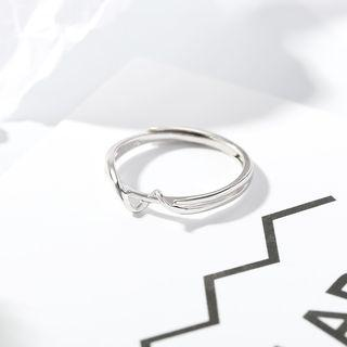 Open Ring 1 Pc - Silver - One Size