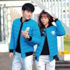 Couple Padding Baseball Jacket
