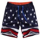 Star Print Beach Shorts