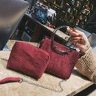 Corduroy Handbag