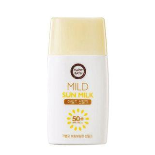 Happy Bath - Mild Sun Milk Spf50+ Pa+++ 75ml 75ml