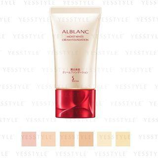 Sofina - Alblanc Moist White Cream Foundation Spf 25 Pa++ 30ml - 6 Types