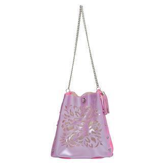 Oriental Crossbody Bag Light Purple & Pink - One Size