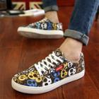 Print Canvas Sneakers