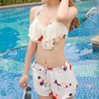 Set: Ruffle Bikini + Shorts
