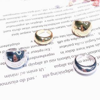 Polished Alloy Open Ring