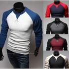 Raglan Colour Block Pullover