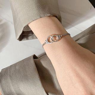 925 Sterling Silver Handcuff Bracelet Handcuff Bracelet - One Size