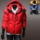 Detachable Hood Padded Jacket