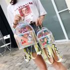 Applique Hologram Lightweight Backpack