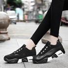 Platform Color Block Sneakers