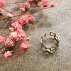 Cutout Open Ring Gold - One Size
