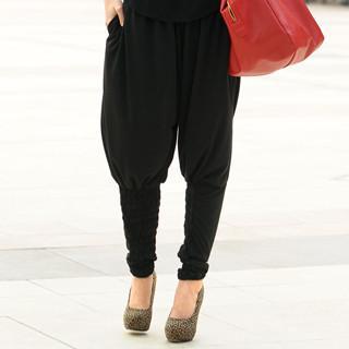 Harem Pants Black - One Size