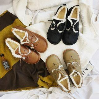 Fleece Oxfords