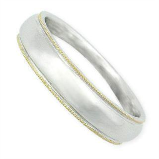 Tailor-made 18k White & Yellow Gold Ring