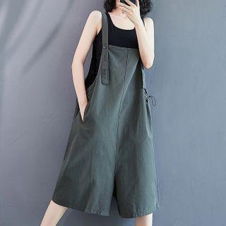 Capri Jumper Pants Gray - One Size