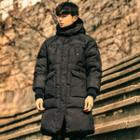 Hooded Duck-down Thick Padded Coat