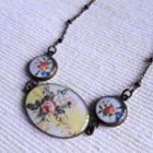 Vintage Flower Bracelet One Size