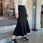 Neon Long Mermaid Skirt