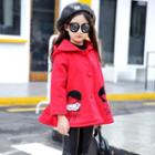 Embroidery Hooded Coat