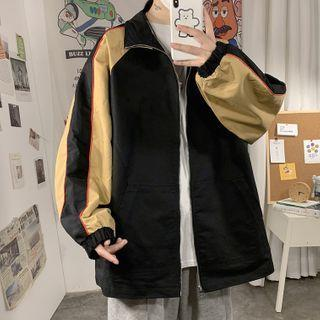 Color Panel Jacket Jacket