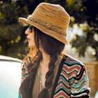 Melange Straw Hat