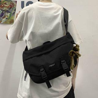 Plain Flap Messenger Bag