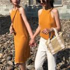 Plain Halter Dress / Halter Top