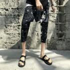 Print Capri Harem Pants