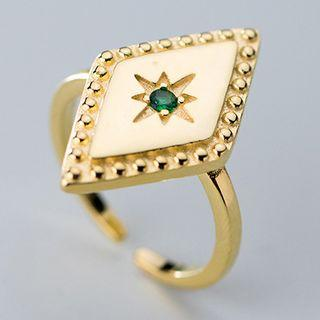 Rhombus Open Ring As Shown In Figure - One Size