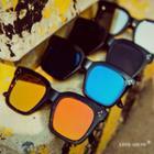 Mirrored Square Sunglasses