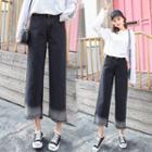 Panel Wide-leg Jeans