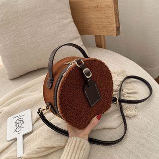 Mini Furry Round Crossbody Bag